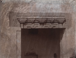 Architrave built into wall, Damdama, Hazaribagh District.